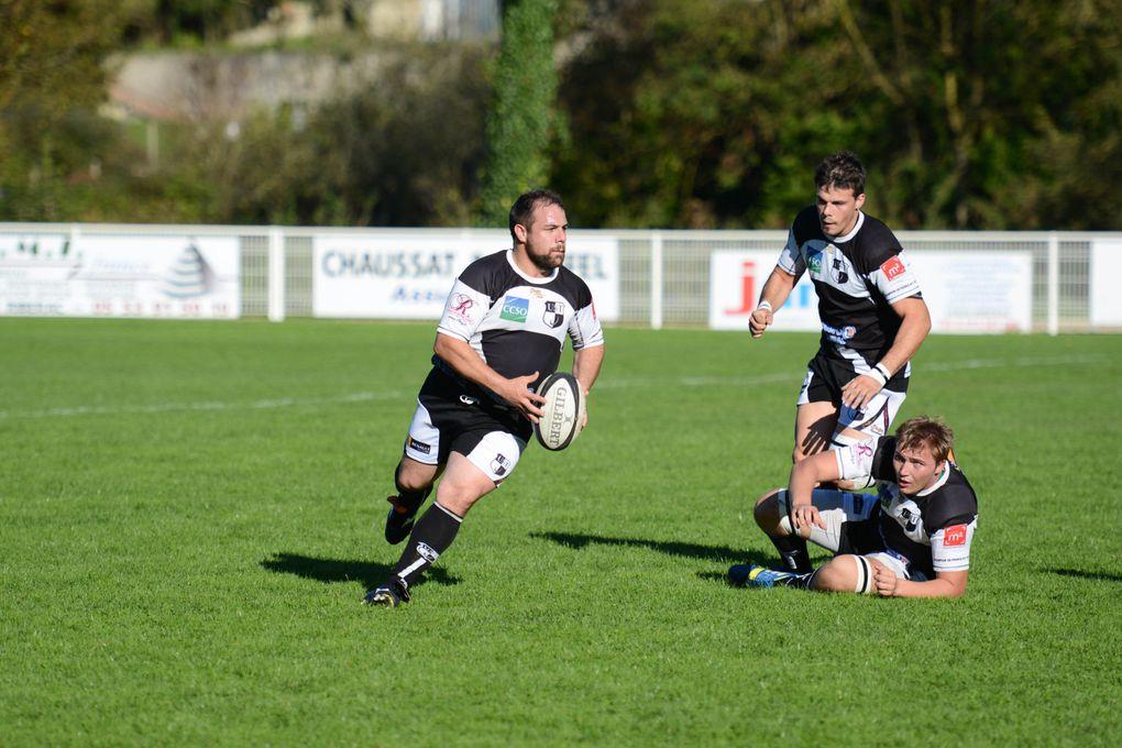 Rugby Fédérale 3 : Diaporama Ribérac UST