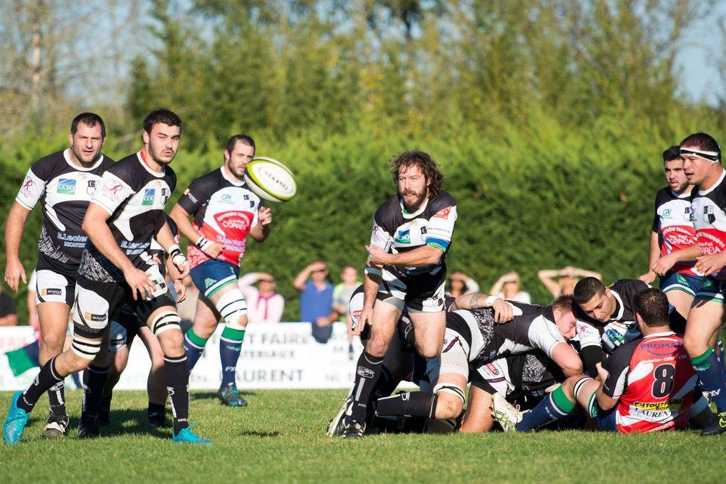 Rugby F3 : Tournon s'impose contre le RCCB avec le bonus !