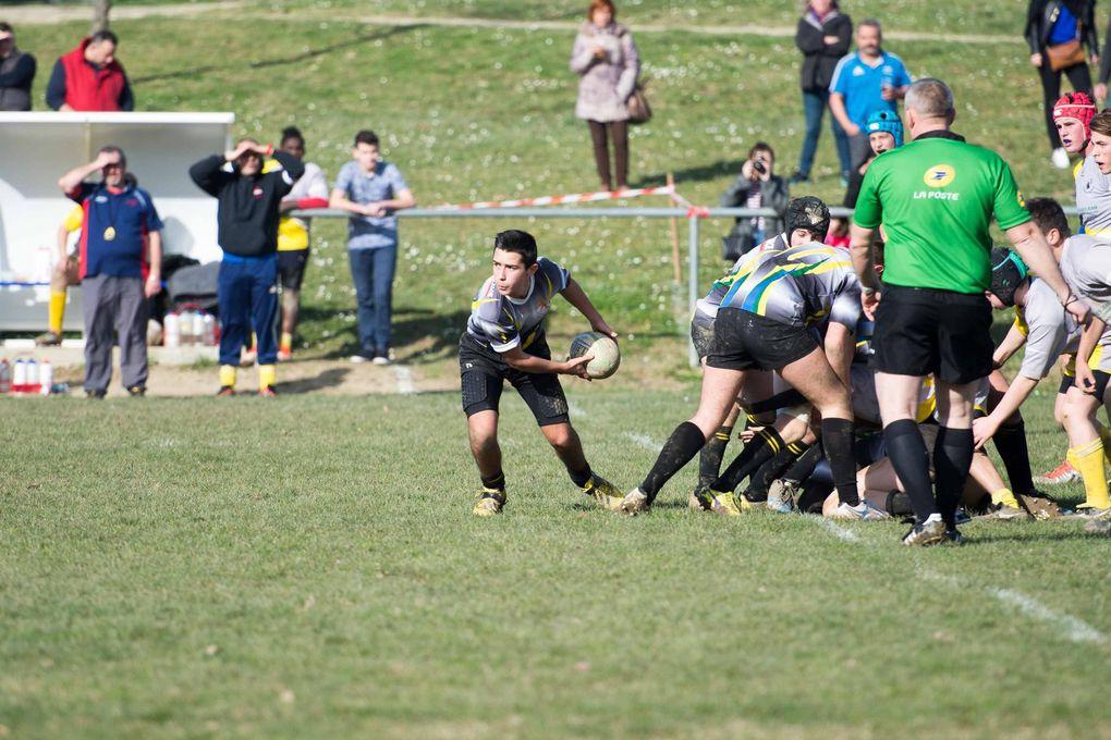 Sport Rugby VLL : Victoire pour les cadets et courte défaite pour les juniors !!!