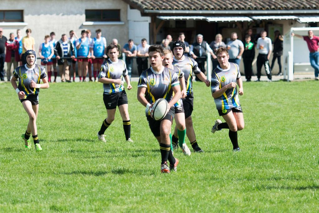 Sport Rugby VLL : Les Cadets chutent face aux 4 Cantons