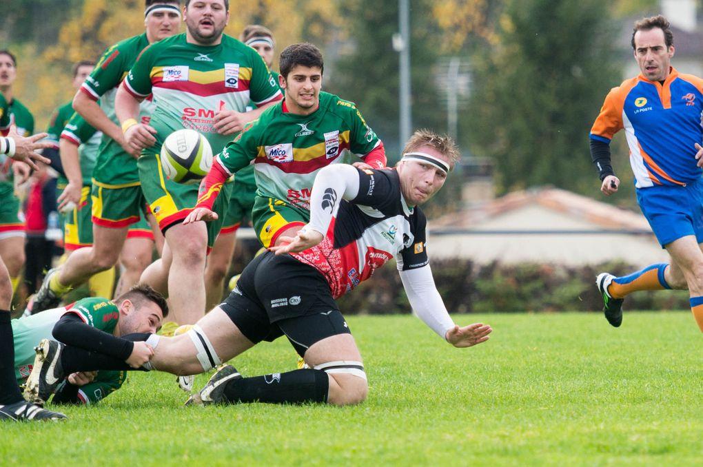 Sport Rugby Fédérale 3 : Tournon aux deux visages