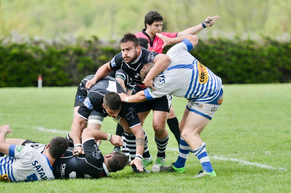 Rugby Fédérale 3 : Layrac battu à Tournon mais qualifié !