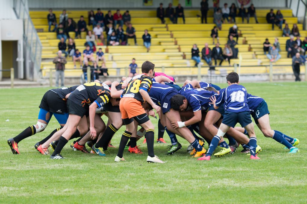 Sport Rugby Jeunes VLL : Les cadets s'inclinent à Castelmoron