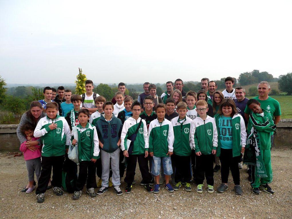 Les jeunes stéphanois invités par l'ASSE