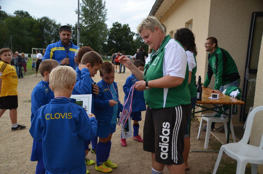 40 équipes ont participé au tournoi des jeunes footballeurs