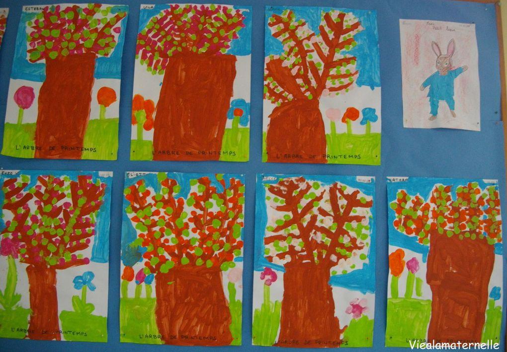 L'arbre de printemps à la peinture (2016)
