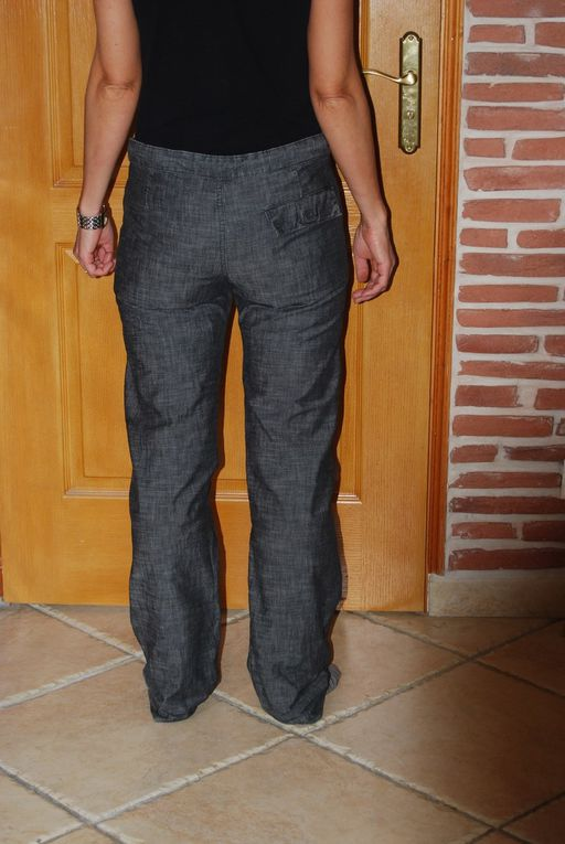 Reprendre un pantalon trop grand