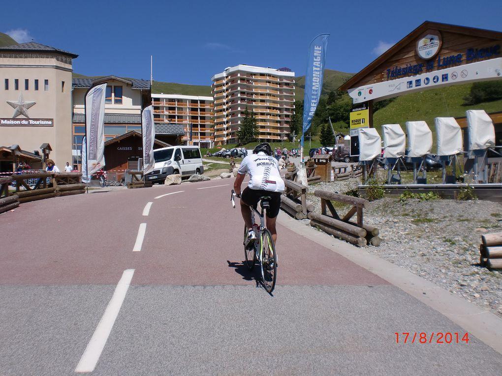 Saint-François-Longchamp, le sommet est en vue, mais que c'est dur
