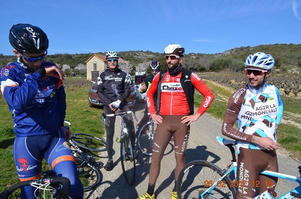 Sortie autour des gorges de l'Ardèche