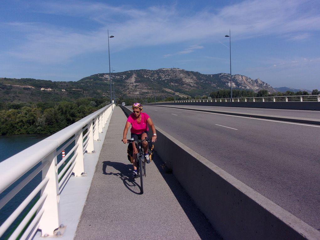 Le Rhône à Valence