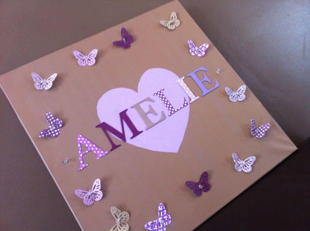 Ensemble Papillon Violet, Parme et taupe