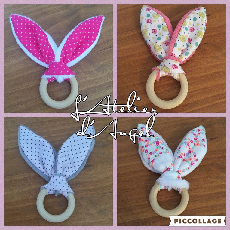 Petit Hochet oreilles de lapin