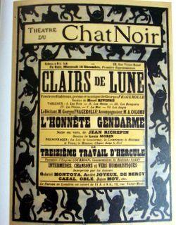 Hommage au CHAT NOIR .