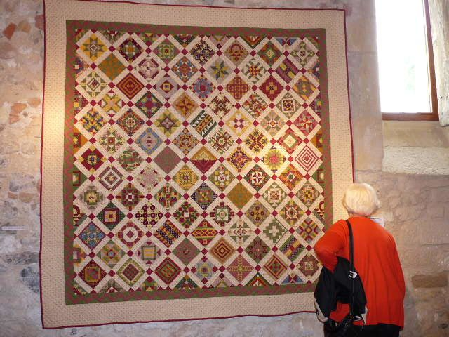 Le &quot&#x3B;patchwork&quot&#x3B; en visite à Brouage