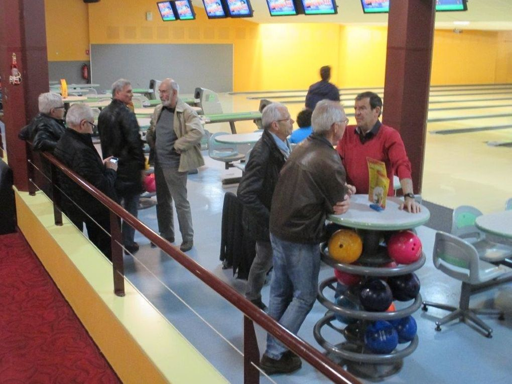 Challenge inter-groupe au Bowling