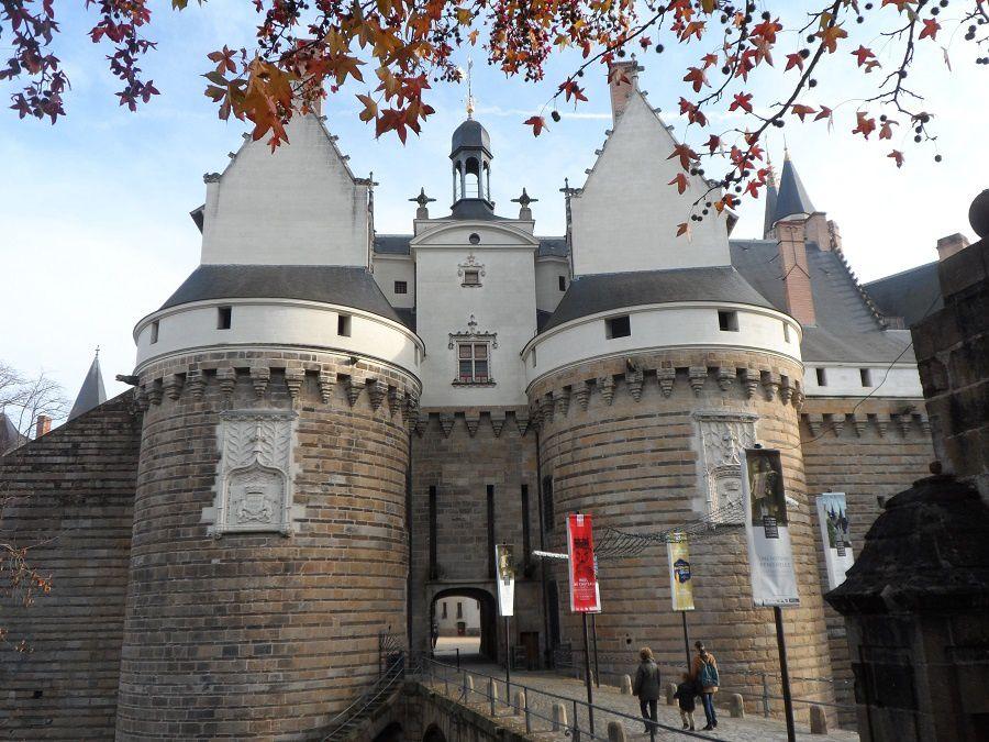 Croquis d'exterieur &quot&#x3B;au Château&quot&#x3B;