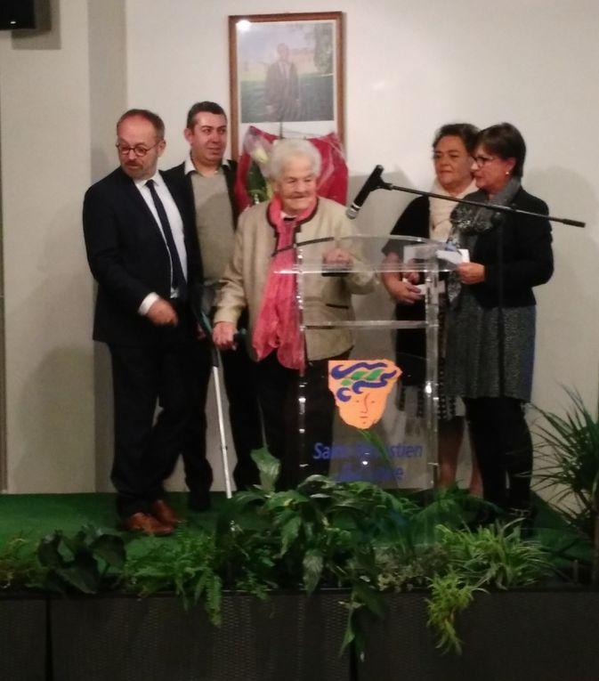 &quot&#x3B;Médaille de La Ville&quot&#x3B; pour Michèle MORVAN
