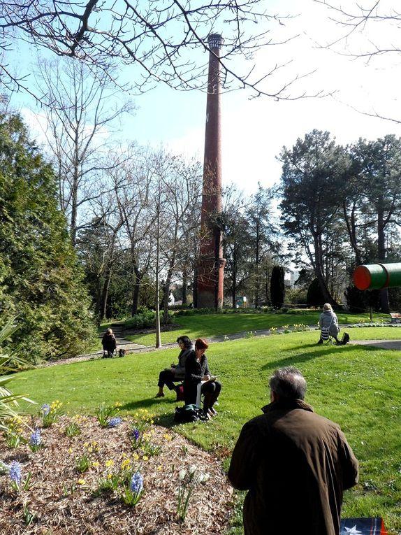 Les &quot&#x3B;croqueurs&quot&#x3B; exterieurs au Parc de la Morinière