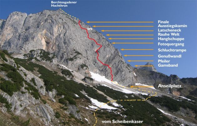2013/08/24 : Vias de Berchtesgaden (ALL) - [Via Ferrata]