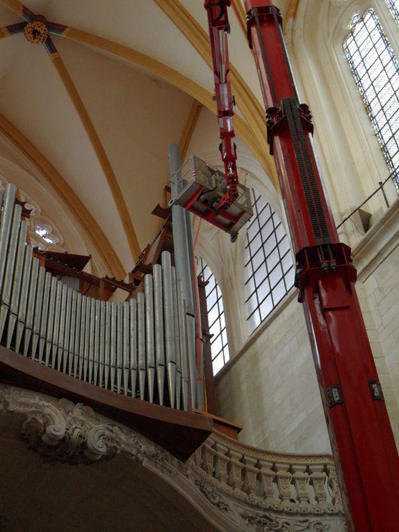 Dépose et repose des tuyaux de façade (DR : Stéphane Godet)