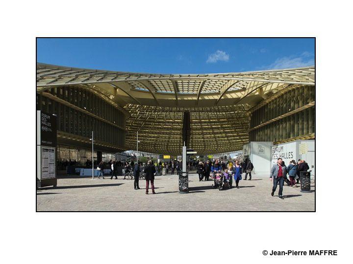 Le chantier se termine. La canopée a ouvert ses portes en avril.