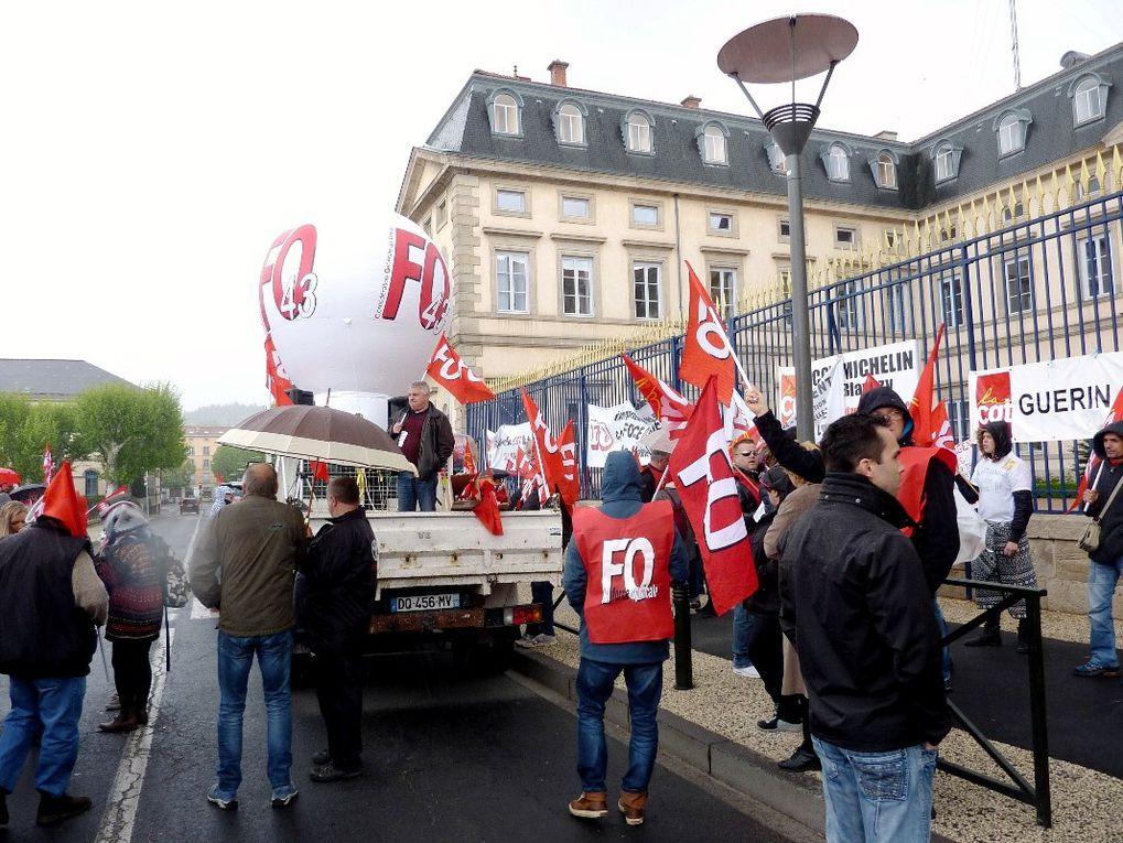 Le jeudi 19 mai : mobilisation renforcée. Les Unions Départementales FO ouvrent la perspective d'une manifestation nationale