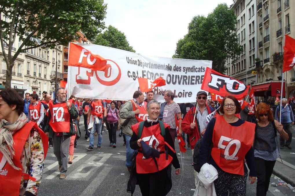 Un million à Paris le 14 juin ! On ne lâchera pas ! Retrait de la loi travail !