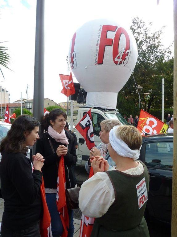 700 manifestants au Puy pour l'abrogation de la loi El Khomri : &quot&#x3B;on ne lâche pas!&quot&#x3B;