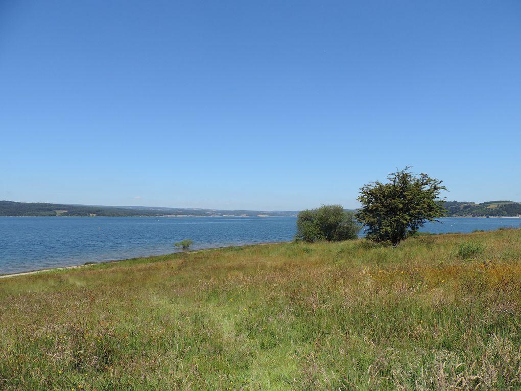 Le lac de Naussac, un réservoir à découvrir