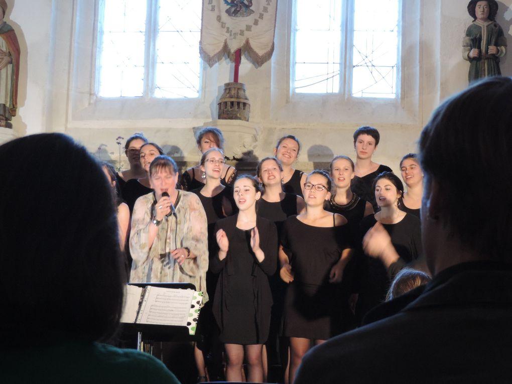 Concert de Silk à la chapelle Saint Michel de Questembert (56)