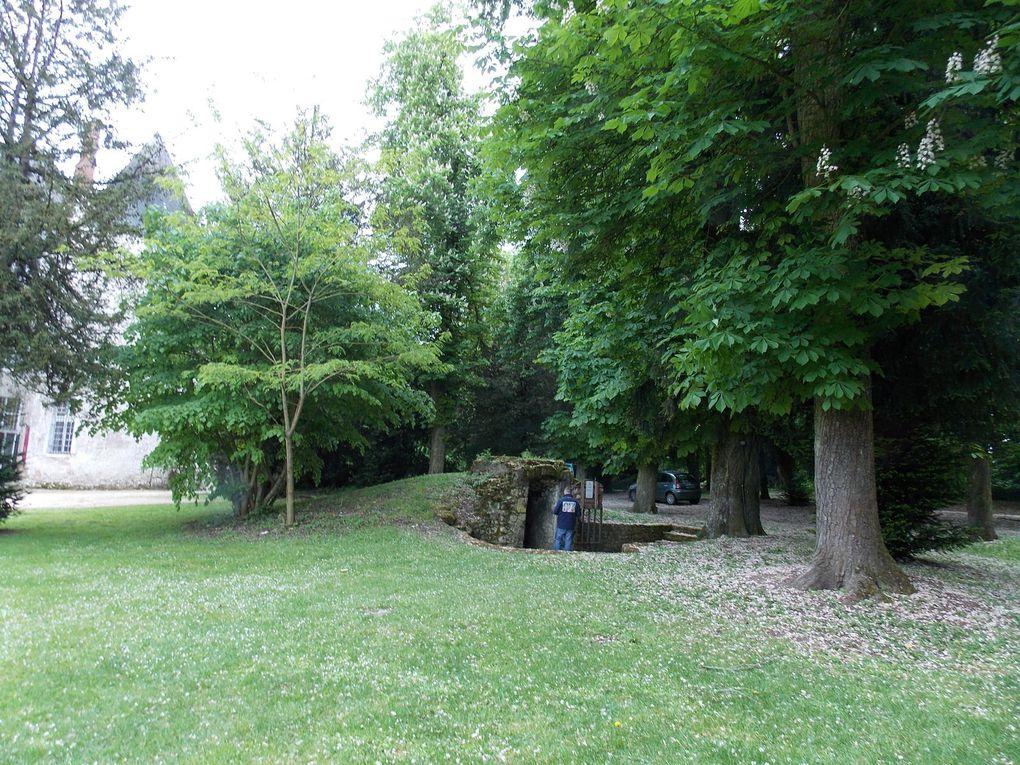 Visite au château de Meung sur Loire (45)
