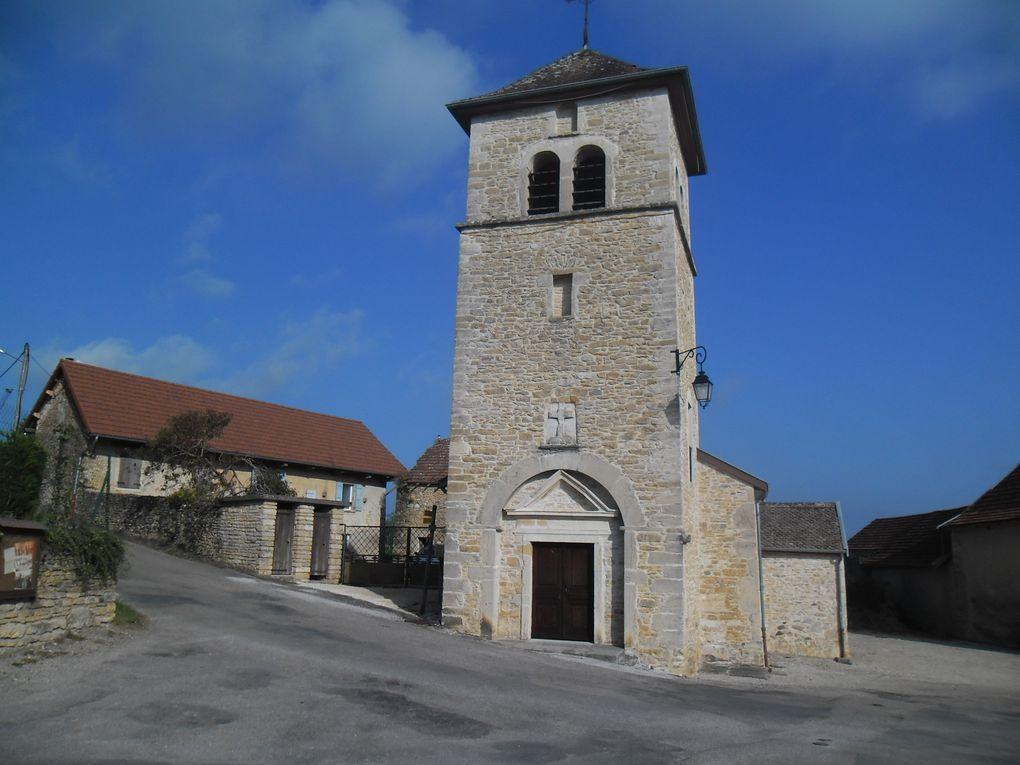 Rando autour de Saint Hilaire de Brens