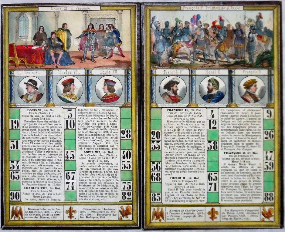 loto de l'Histoire de France par Lion Fils