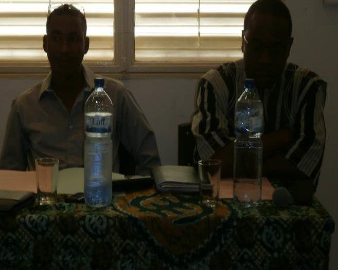 Alcény Barry, Idrissa Zorom, Pr Yves Dakouo, Une vue du public