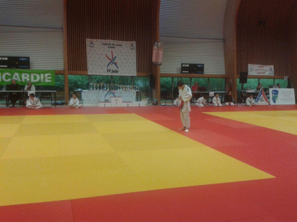 17ème challenge de l'ESCT Judo à TERGNIER les 19 et 20/12/15