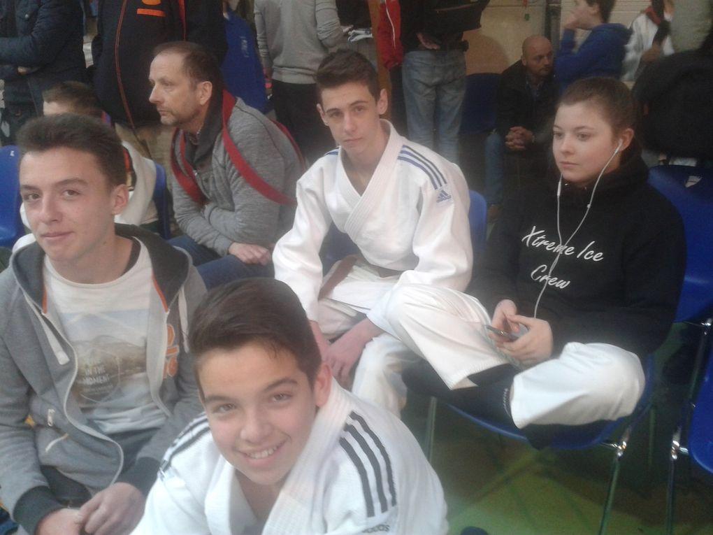 13ème Open international Judo Tori à JODOIGNE (Belgique) le 09/04/16