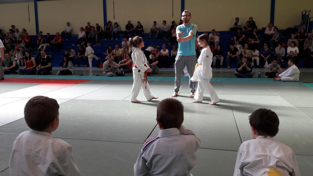 Interclubs du JUDO CLUB ITANCOURT le 09/04/17