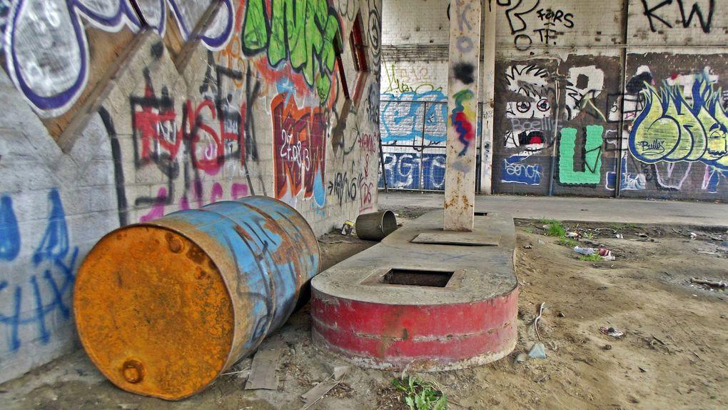 Doel, a Ghost Town in Belgium, Village abandonné près d'Anvers suite à l'implantation d'une centrale nucléaire.