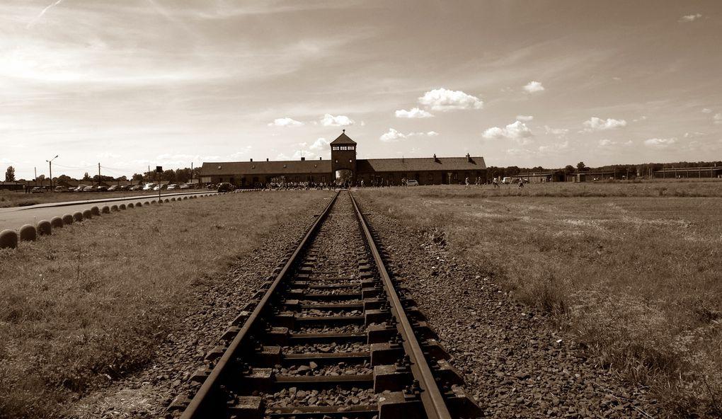 Camp d'extermination de Birkenau.