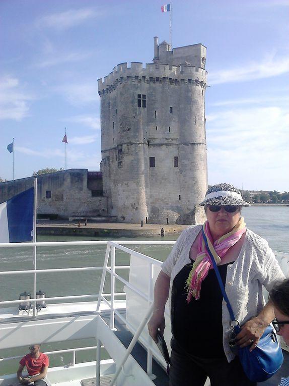 Petite journée à l'Ile d'Aix, départ de la Rochelle, petit tour par Fort Boyard