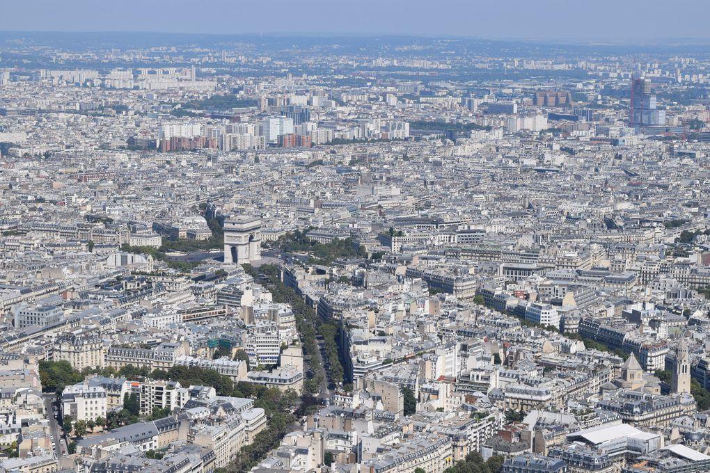 Vacances août 2016 : Paris Tour Eiffel