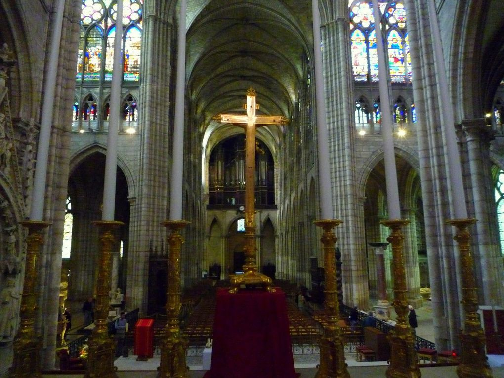 Quelques images de la basilique de Saint Denis (septembre 2011 , images personnelles)