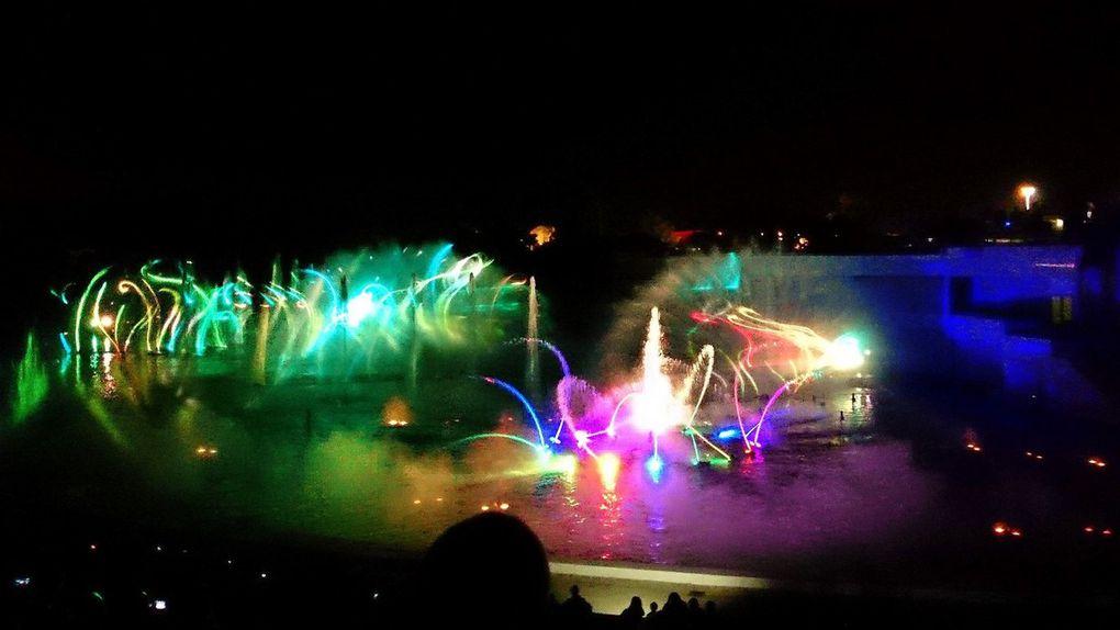 Diaporama sur le Futuroscope et son spectacle nocturne (photos et vidéos personnelles