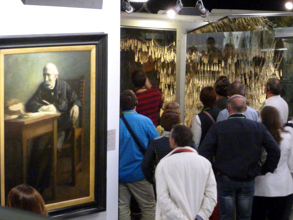 Diaporama présentant quelques pièces collectées dans le musée ( avril 2015, images personnelles)