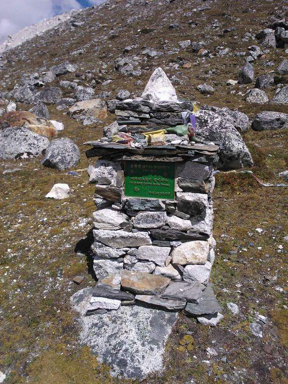CAMP DE BASE DE L'EVEREST 5650m