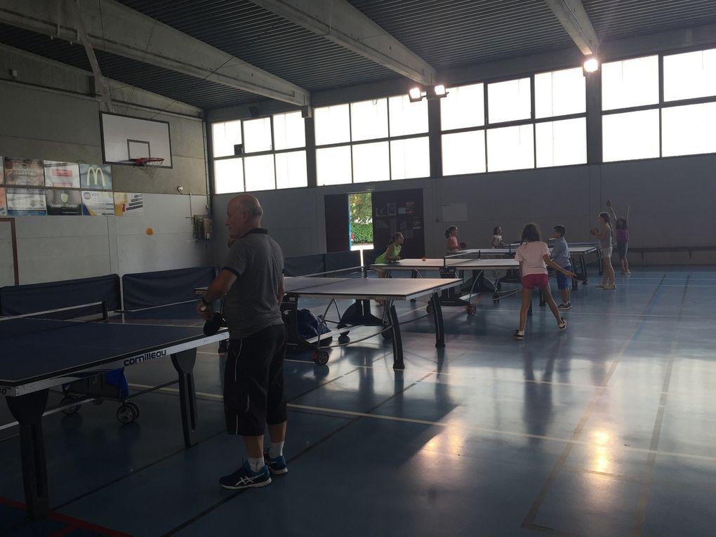 Du ping pong pour les élèves