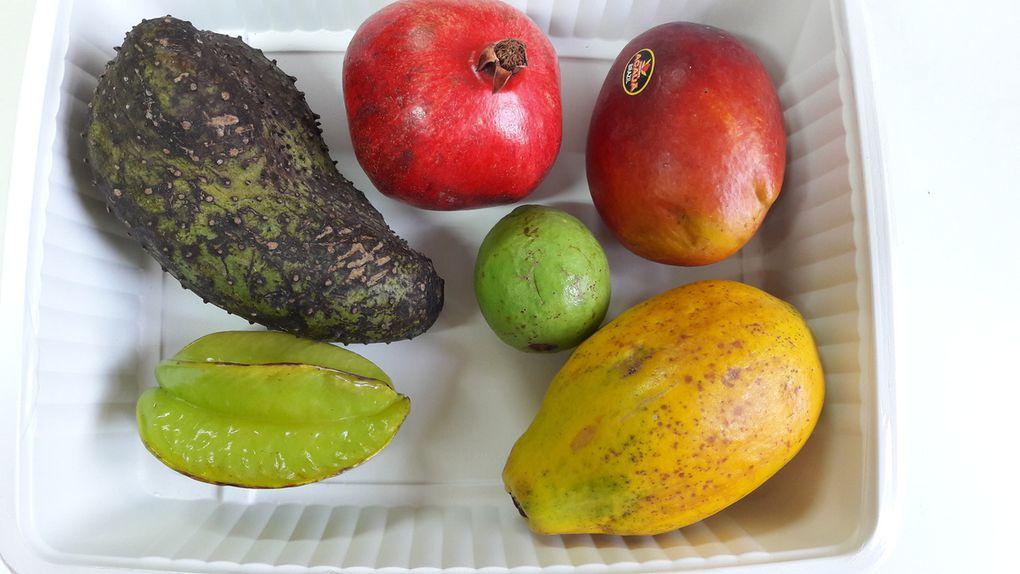 Dégustation des fruits de la Guyane