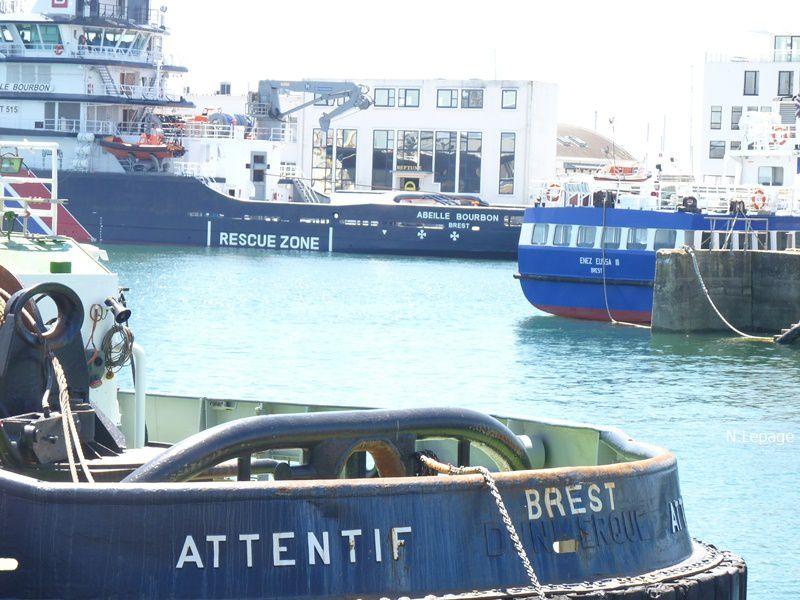 ça faisait longtemps, port de Brest