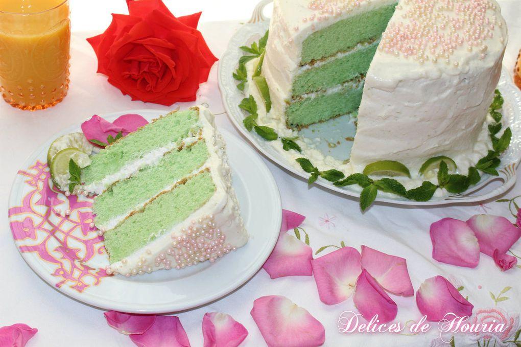 Gâteau key lime pour mon anniversaire