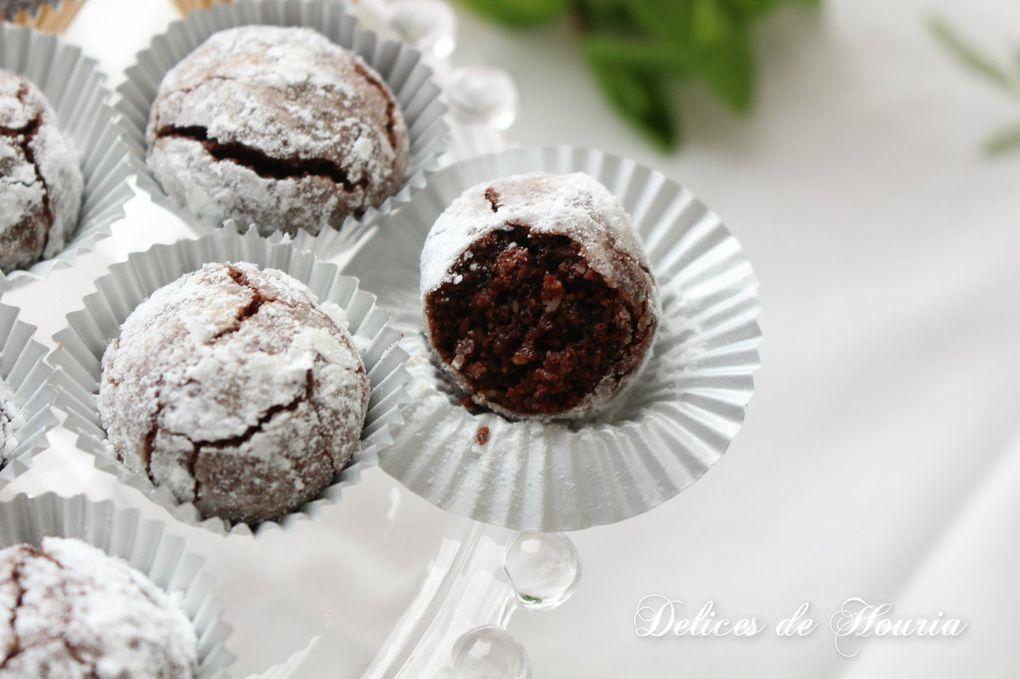 Bouchées fondantes chocolat noisettes